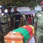 Cameroun : hommage à un jeune soldat sacrifié et mort pour la patrie