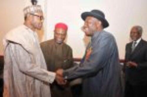 Article : Nigeria : la leçon de Jonathan à Laurent
