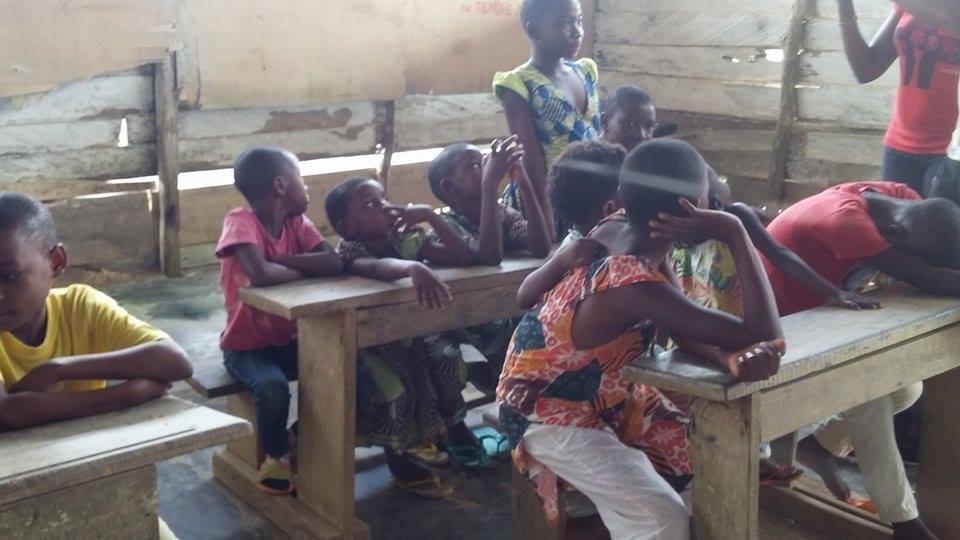 Un aperçu d'une salle de classe CAJEN