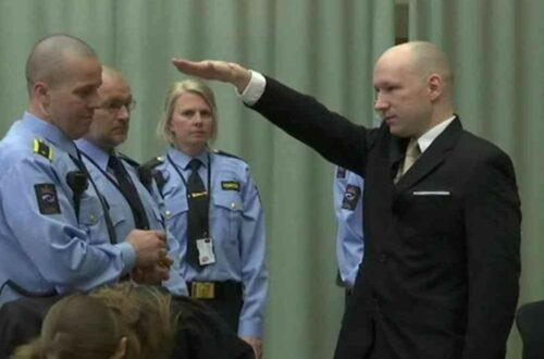 Article : Norverge : la «justice se juge» et donne raison à Breivik, le néo-naziste