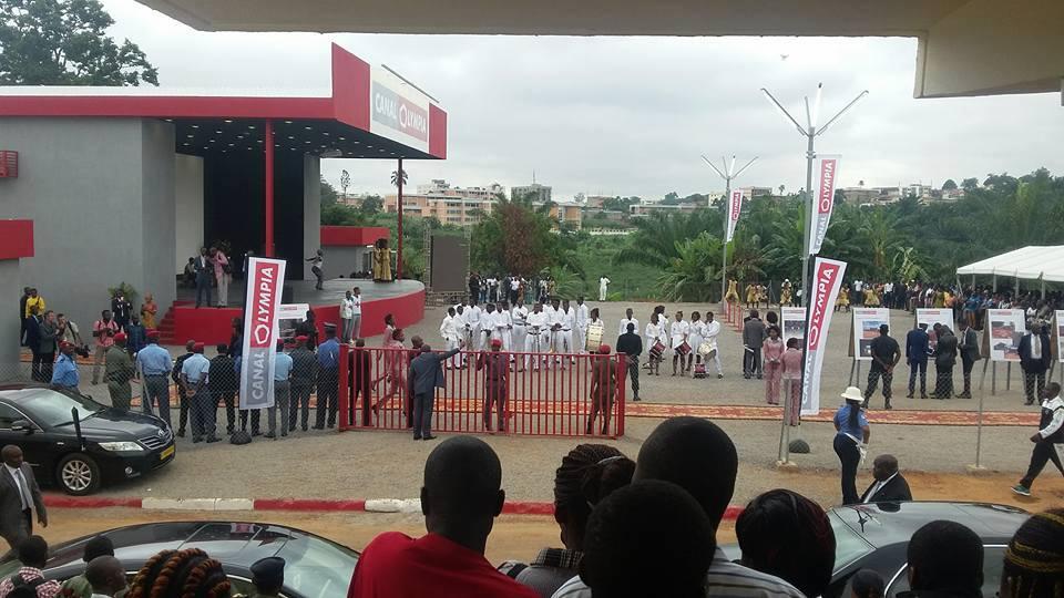 Cérémonie d'inauguration le mardi 14 juin 2016/Image : CanalOlympia