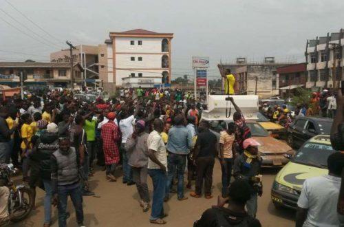 Article : Ville morte : les anglophones manifestent à Bamenda