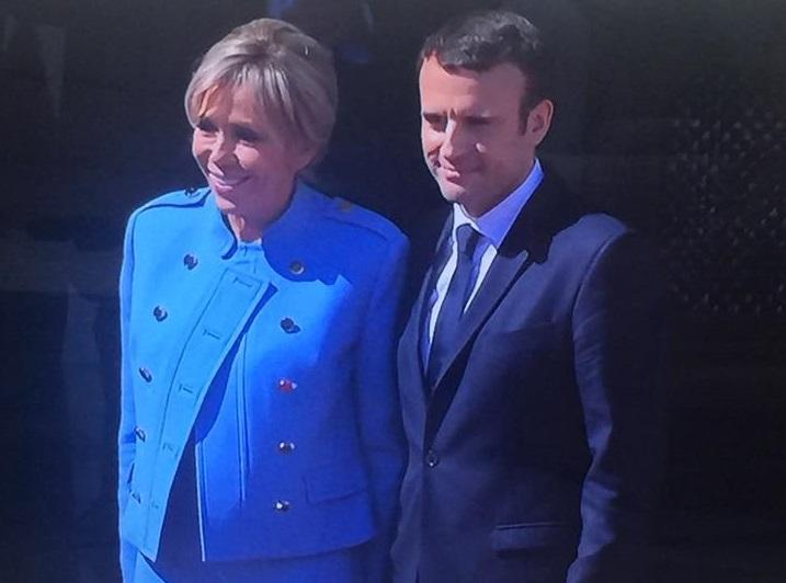 Le couple Macron à l'Elysée