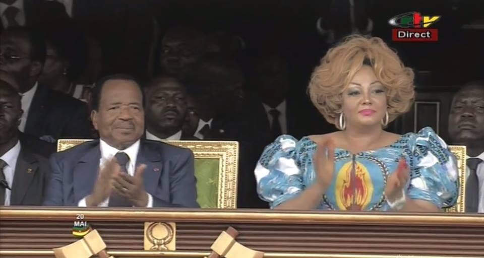 Couple présidentiel à la fête nationale du 20 mai