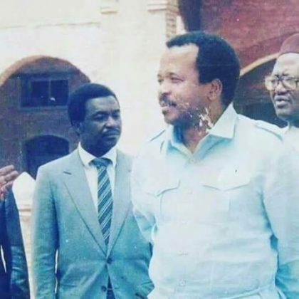 Paul Biya du temps de sa jeunesse, aujourd'hui un vieux routier de la classe politique