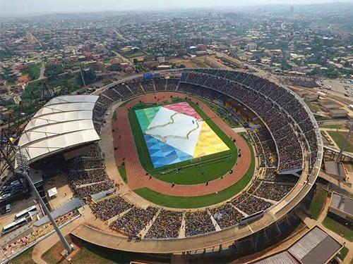 Stade Amadou Ahidjo-Stade d'entraînement CAN 2019