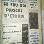 Le journalisme et la presse camerounaise au cœur de la tyrannie