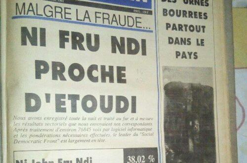 Article : Le journalisme et la presse camerounaise au cœur de la tyrannie