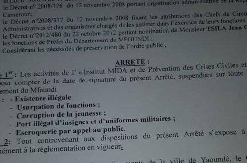 Article : Mida : les leçons d'une «escroquerie de grande envergure» éventrée par le gouvernement camerounais