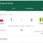 Mondial 2018 : une première victoire pour l'Afrique grâce au Sénégal