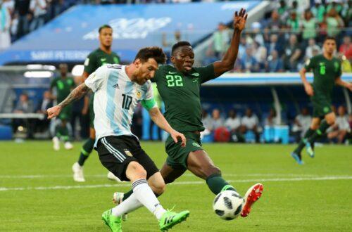 Article : Coupe du monde 2018 : l'Argentine se qualifie in-extremis face au Nigeria