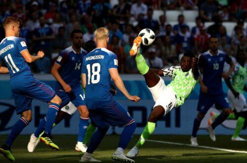 Article : Mondial 2018 : le réveil du Nigeria, pas trop tard