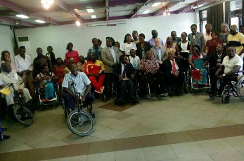 Article : Comment, au Cameroun, les candidats à la présidentielle 2018 abordent-ils la problématique du handicap?
